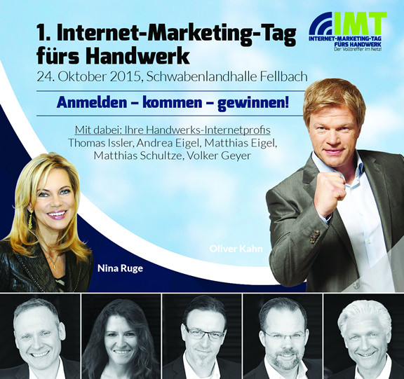 Erster Internet-Marketing-Tag fürs Handwerk in Fellbach bei Stuttgart